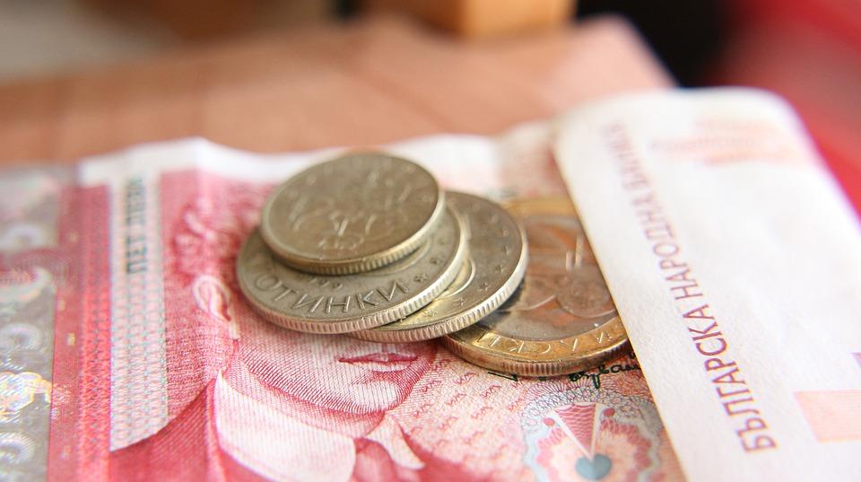 bulharské peníze