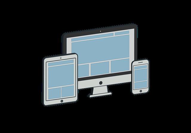 tablet, počítač, mobil