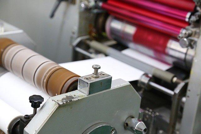 válce v tiskárně