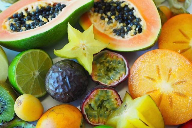 Nabídka tropického ovoce